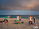 Yoga en la playa de Morro Jable